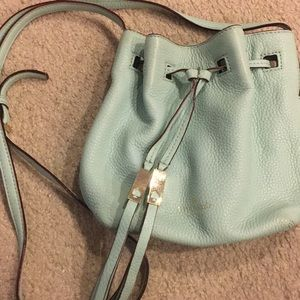 Kate Spade Tiffany blue sac purse